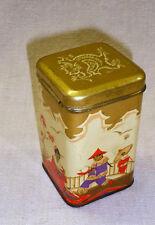 ALT hübsche  Blechdose Blech Dose  Teedose chinesisches Motiv *