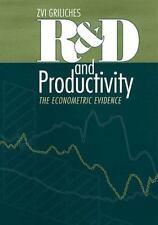 R&D and Productivity: The Econometric Evidence (National Bureau of Economic Rese