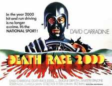 Death Race 2000 Poster 03 A4 10x8 Photo Print
