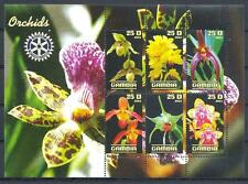 (051230) Rotary, Orchids, Gambia - private issue -