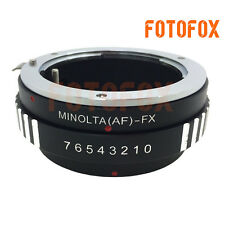 AF-FX Adapter for Sony Minolta AF MA Mount Lens to Fujifilm X-Pro1 X-E1 Camera