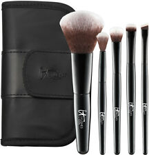 It Cosmetics Your Face & Eye Essentials 5-piece Travel Makeup Brush Set for Ulta