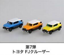 TOMICA #085-6 TOYOTA FJ CRUISER 1/66 JAPAN TOMICA ASSEMBLY FACTORY 2014 SET OF 3