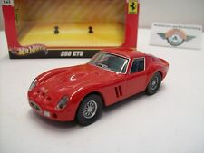 Ferrari 250 GTO, rot, 1963, HOT WHEELS 1:43, OVP