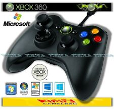 ORIGINALE MICROSOFT WIRED CAVO CONTROLLER PER XBOX 360 ™ e Windows PC Nuovo/Scatola Originale