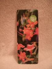 3D Hummingbirds And Flowers Bookmark And Ruler