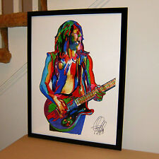 Pat Travers, Singer, Guitar Player, Hard Rock, Blues Rock, 18x24 POSTER w/COA