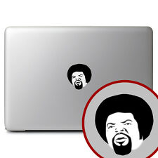 Ice Cube NWA Gangsta Afro Rapper for Macbook Air/Pro Laptop Vinyl Decal Sticker
