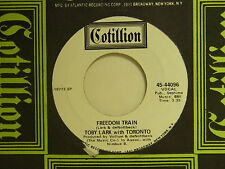 Toby Lark w. Toronto 45 FREEDOM TRAIN / ...IN THIS TOGETHER ~ Cotillion VG++