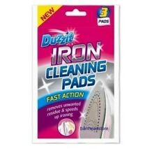 DUZZIT IRON CLEANING WIPES PADS