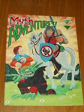 MYTH ADVENTURES #2 JUNE 1984 WARP GRAPHICS US MAGAZINE~