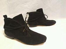 women's shoes Elizabeth & James size 6 black lace up $325.00
