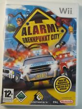 NINTENDO Wii game Alarm Focal point City, used but GOOD