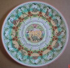 Wedgwood Large Collectors Plate THE AGE OF REPTILES 1983 THIRTEENTH SERIES #2
