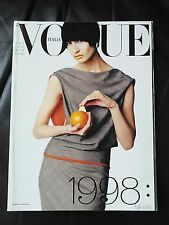 *** VOGUE ITALIA  MAGAZINE January 1998 Steven Meisel