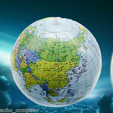 """INFLATABLE GLOBE 40cm/16""""  Atlas World Map Earth Geography Ball Educational Toys"""