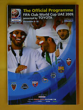 FIFA Club World Cup UAE 2009 - The Official Programme - 9th - 19th December 2009