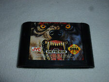 SEGA GENESIS GAME WOLFCHILD CARTRIDGE ONLY VINTAGE CART JVC X EYE NOMAD CDX WOLF