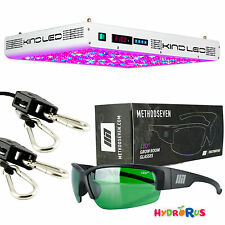 Kind Led K5 Series XL1000 LED Grow Light + M7 Cultivator LED Glasses + Ropes Kit