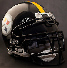 PITTSBURGH STEELERS NFL Authentic GAMEDAY Football Helmet w/ OAKLEY Eye Shield