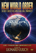 NEW WORLD ORDER: Secret Societies and Biblical Prophecy - DVD by Leonard Ulrich
