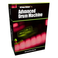 Advanced drum machine beat music maker logiciel de création