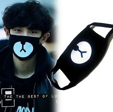 heartybay Motorcycle Face Masks Unisex Exo All Members Black Mask Exo Mask Kp...