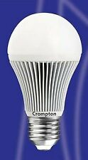 5X Crompton 5W Energy Saving GLS Lamp Light Bulb Daylight 7000k 300 Lumens