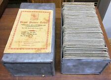 Vintage Victor Animatograph Magic Lantern Slides Sea of Immortality 55 Set