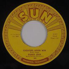 BOBBY JEAN: Cheaters Never Win USA SUN 342 NM- Super ROCKER 45