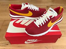 NIKE Roshe Cortez Men's Trainers, Red/Yellow - Size 7