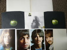 BEATLES WHITE ALBUM D/LP 68 TOP LOADING 1ST STEREO - INSERTS / SPACER EX+