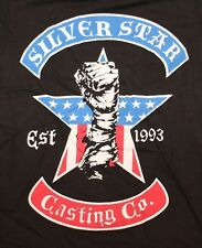 AUTHENTIC MMA UFC SILVER STAR CASTING CO COMPANY BLACK T SHIRT TEE SZ S NEW