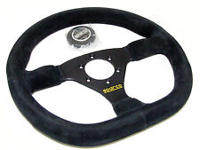 Sparco Steering Wheel - L360 Ring (330mm/Flat/Flat Bottom/Suede)