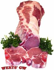 "Four 12 oz. Center Cut Pork Chops-1.25"" Thick-Nebraska Processed-Certified Pork"