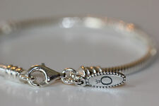 AUTHENTIC PANDORA 590700 LOBSTER CLASP BRACELET 7.9 or20cm S925 ALE GIFT BOX