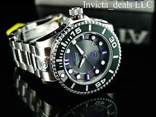 Invicta Men's 300M Grand Diver II Auto 3D Charcoal Dial Purple Accents SS Watch