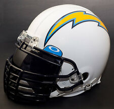 SAN DIEGO CHARGERS NFL Gameday REPLICA Football Helmet w/ OAKLEY Eye Shield