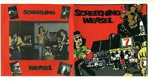 SCREECHING WEASEL -  Self-Titled - 1987 CD V.M.L. Records - NO BACK COVER