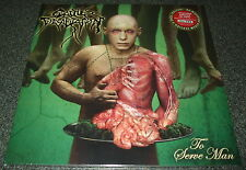 CATTLE DECAPITATION-TO SERVE MAN-2014 LP-GREEN/RED VINYL-200 ONLY-NEW & SEALED