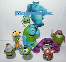 Disney Monsters Inc Party Favors Set of 7 Large Figures with Sullivan, Mike, Art