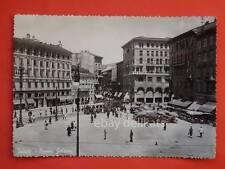 TRIESTE tram tramway vecchia cartolina Goldoni bis