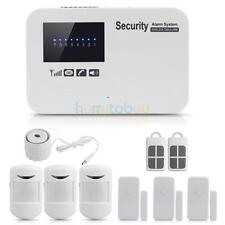 Wireless GSM SMS IOS/Android APP Home Office Security Safe Burglar Alarm System