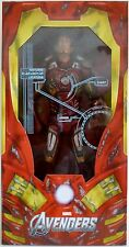 "IRON MAN BATTLE DAMAGED The Avengers 18"" inch 1/4 Scale Movie Figure Neca 2013"