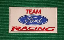 Vintage Team Ford Racing Formula 1 Biker Iron/ Sew-on Embroidered Patch/ Logo