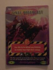 Rare Dr who battles in time card final broadcast 304