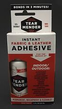 New Bish's Original Tear Mender Instant Fabric Leather Glue Adhesive NON-TOXIC