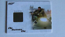 JAMES BOND ARCHIVES 2014 JBR37 HOVERCRAFT SEAT NUMBERED RELIC CARD
