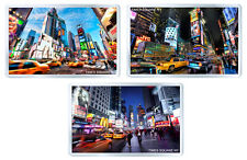 NEW YORK TIMES SQUARE SET OF 3 FRIDGE MAGNET SOUVENIR 3 IMANES NEVERA