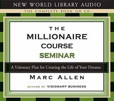 Millionaire Course Seminar: A Plan for Creating the Life of Your Dream CD-Audio